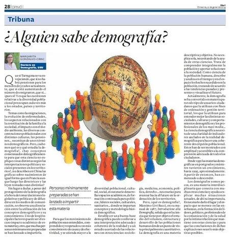 Un artículo de opinión sobre demografia... - Población, movilidad y ... | Demografía de México | Scoop.it