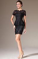 [USD 154.89] eDressit 2014 New Short Sleeves Black Lace Dress (26141600)   eDressit 2014 Nouveauté Magnifique Robe de Soirée en tendance   Scoop.it