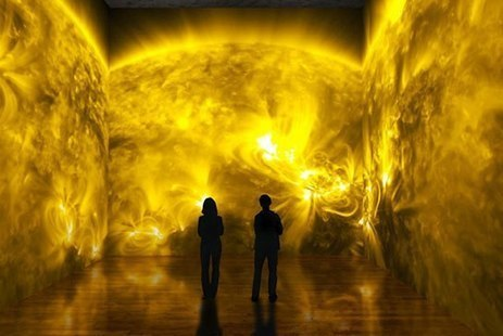 NASA's Latest Art Installation Projects Videos of the Sun | Projection | Scoop.it