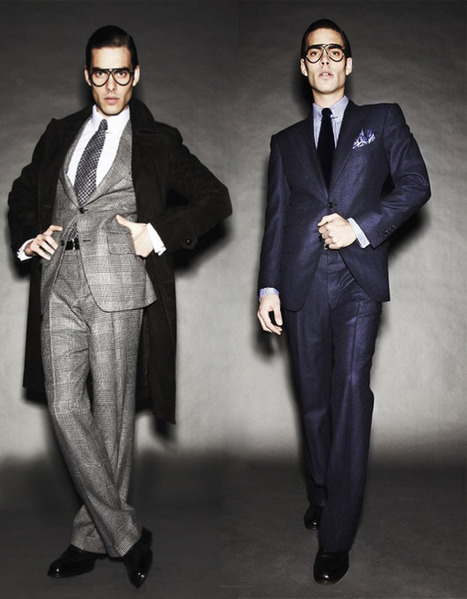 Men's suits: modern suit styles for 2012 | Alternative Mens Fashion and Lifestyle | Scoop.it