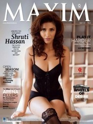 Shruthi Hasan posed hot for Maxim's cover | Info Online Pages | Tollywood Movies | Tollywood News | Scoop.it