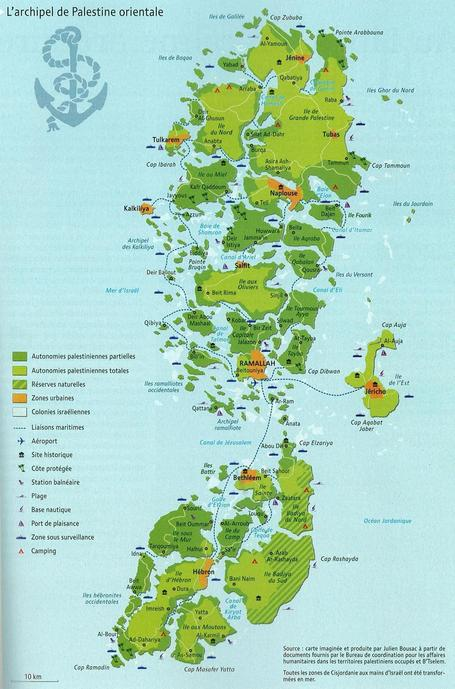 The Archipelago of Eastern Palestine | Geography Education | Scoop.it
