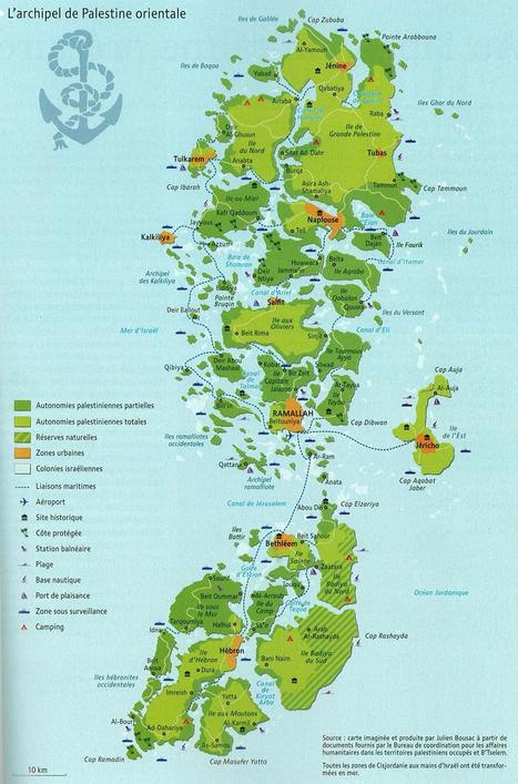 The Archipelago of Eastern Palestine | Human Geography is Everything! | Scoop.it