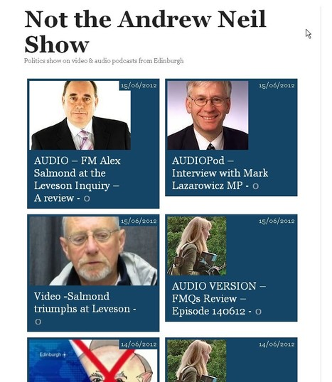 Not the Andrew Neil Show - Latest updates | YES for an Independent Scotland | Scoop.it