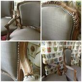 New Louis XV armchairs | restauration fauteuil | Scoop.it