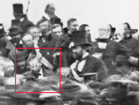 Prologue: Pieces of History » Rare photo of Lincoln at Gettysburg | Daring Ed Tech | Scoop.it