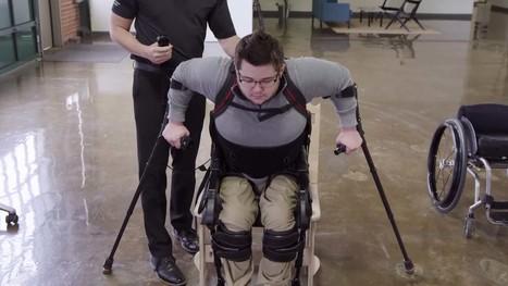 Ekso, l'exosquelette qui veut rendre le fauteuil roulant obsolète | Libertés Numériques | Scoop.it