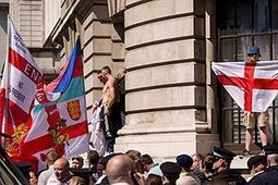 EDL protest in central London | The Indigenous Uprising of the British Isles | Scoop.it
