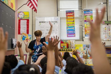 Prince George's teacher begins 40th year in first-grade classroom at Bladensburg school | Daring Ed Tech | Scoop.it