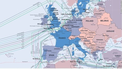 What the Internet looks like: The undersea cables wiring the ends of the Earth - CNN.com | Datacenters | Scoop.it