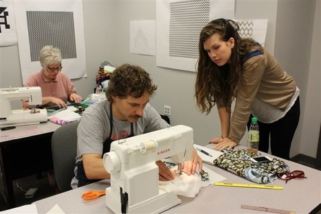 Don't Be A Square: Lessons I Learned From Ben Venom's Heavy Metal Quilting Class | What I Wish I Had Known | Scoop.it