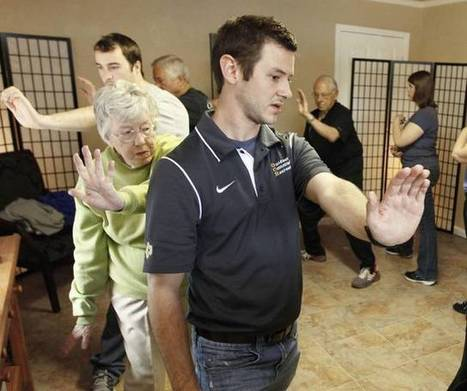 Oklahoma Students use Tai Chi Exercises to Help Seniors Avoid Falling | Aging and aging services | Scoop.it