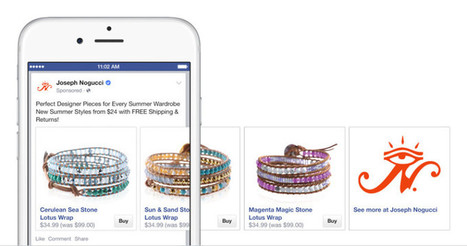 Facebook & Shopify Are Expanding Their Buy Button Testing | Laura Betterly | Scoop.it