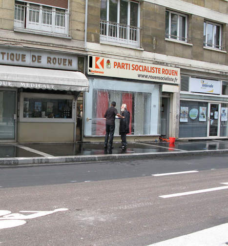 Relooking du local du Parti Socialiste de Rouen. | Ouï dire | Scoop.it