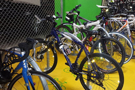 Bike Parking and Green Star | Secure bicycle parking facilities | Scoop.it