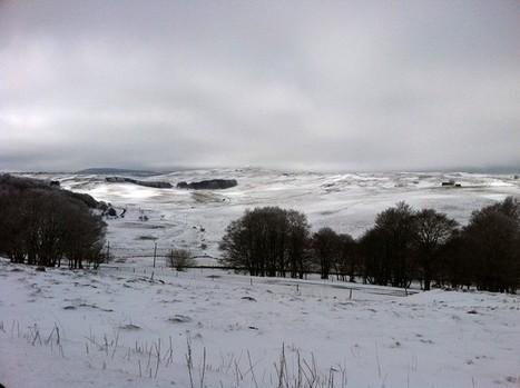Paysage d'Aubrac enneigé et sublimement froid | L'Aveyron | Scoop.it