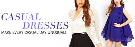 Casual Dresses | Hot A Fashion | Scoop.it