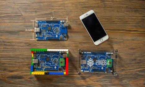 Le Pine A64 est un puissant concurrent au Raspberry Pi   qrcodes et R.A.   Scoop.it