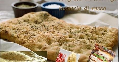 Recette de fougasse au fromage, focaccia (Italie)   Petits déjeuners et pains de la rue, dans le monde   Scoop.it