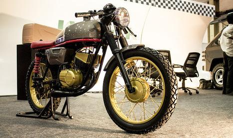 Madras Cafe Racer ~ Grease n Gasoline | Cars | Scoop.it