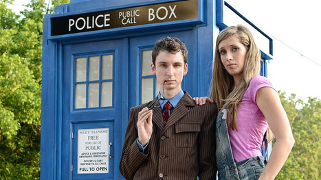 Doctor Who engagement photoshoot is seriously spot-on fantastic | Strange days indeed... | Scoop.it
