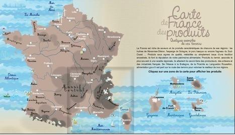 La France - Le patrimoine alimentaire | FLE | Scoop.it