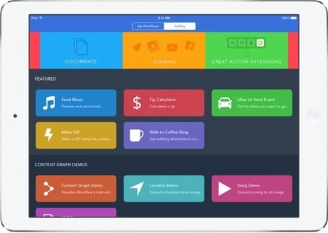 11 of the very best apps for working from an iPad | Technology in the Classroom | Scoop.it