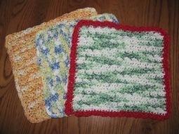 Crocheted Dishcloths - Mother Earth News | Crochet | Scoop.it