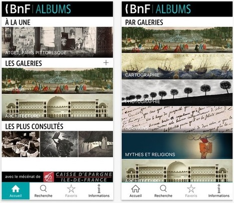 Explorez 2 500 images HD via l'application Albums de la BnF !   Ressources d'images pour les arts plastiques   Scoop.it