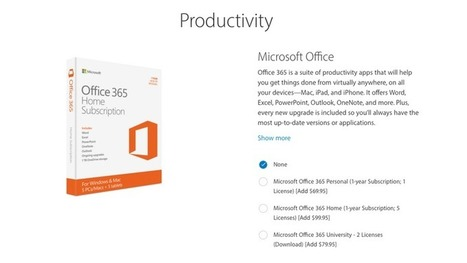 Apple is selling Microsoft Office 365 as an accessory for the iPad Pro | Tech - mostly Apple | Scoop.it