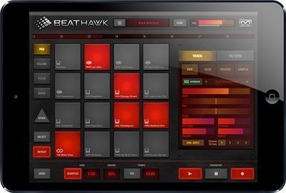 Une nouvelle application sur Ipad de la société UVItouch : BeatHawk en prix de lancement | Cavagroover | Scoop.it