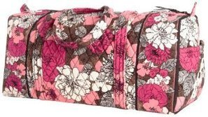 Vera Bradley Small Duffel Review - Travel Bag Quest | Travel bags | Scoop.it