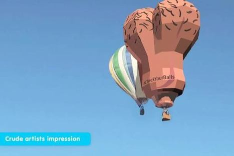 Hot-Air Balloon Testicles Raise Awareness For Male Cancers [Video] - PSFK | Traveline O&A - Gay Travel | Scoop.it