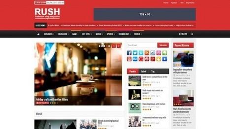 Rush Magazine WordPress Theme | Free & Premium WordPress Themes | Scoop.it
