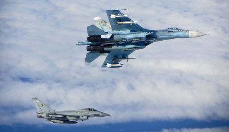 Photos of NATO fighters intercepting fully armed Russian jets | MilPolSec | Scoop.it