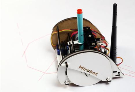 Introducing Mirobot, a DIY WiFi Robot for Children | FreeIO | Heron | Scoop.it