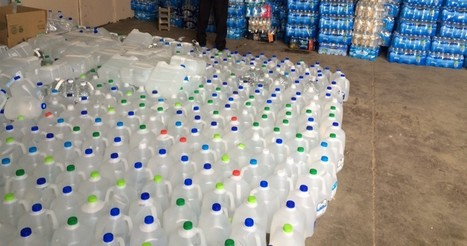 """Flint Is About To Run Out Of Bottled Water And Filters — ThinkProgress (""""residents may be left alone"""") 