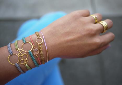 DIY Macrame Bracelet | DIY - jewellery  =  HTM - bijou | Scoop.it