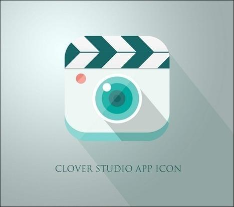 Showcase of 30+ Creative Flat Mobile Icon Designs for Designers | Web Design & Development | Scoop.it