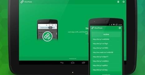 ShortPaste, acortador automático de url para Android | Las TIC en el aula de ELE | Scoop.it