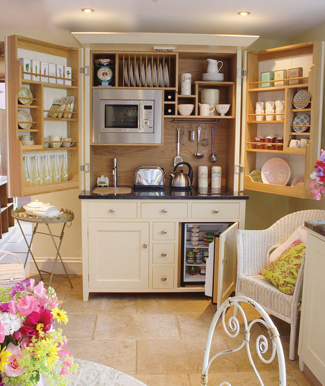 Kitchenettes & Free Standing Kitchens by Culshaw Bell | Palpi Kitchen & Home | Scoop.it