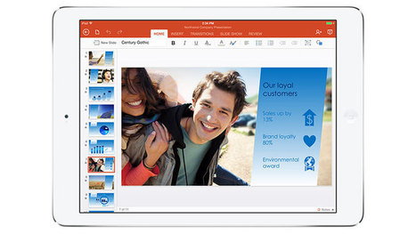 Office For iPad: Word, Excel and PowerPoint For iOS Slates - Know Your Mobile | Technology | Scoop.it