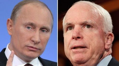 :) McCain will fight back Putin with column | Saif al Islam | Scoop.it