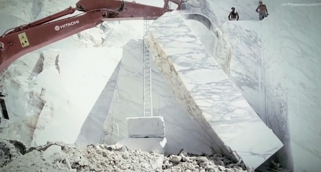 Marble Quarrying Looks Even More Awesome Than You Imagined | 建築 | Scoop.it