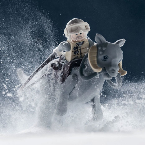 Photography Inspiration - Star Wars Scenes with Legos | Smartpress.com | Photography, Graphic Design & Artful Inspiration | Scoop.it