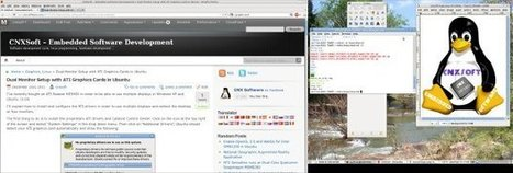 Dual Monitor Setup with ATI Graphics Cards in Ubuntu | Embedded Systems News | Scoop.it