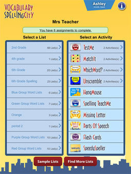 VocabularySpellingCity App | Literacy | Scoop.it