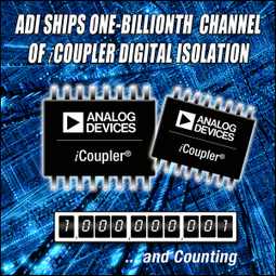 Analog Devices Achieves Major Milestone by Shipping 1 Billionth ... | The Return of Vinyl | Scoop.it
