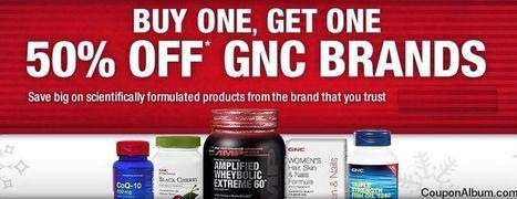 GNC BOGO 50% Off Coupon! | Coupons & Deals | Scoop.it