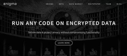 Enigma : la blockchain pour le partage de données | Le Zinc de Co | Scoop.it